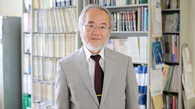 Yoshinori Ohsumi, Prix Nobel de Médecine 2016. [Tokyo Institute of Technology]