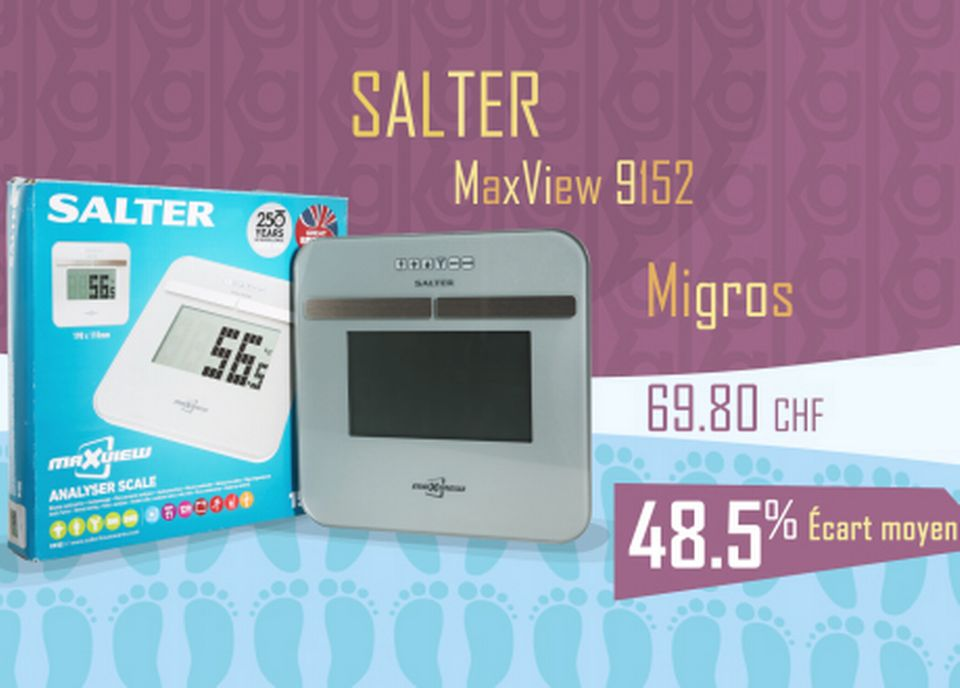 Salter Maxview 9152. [RTS]