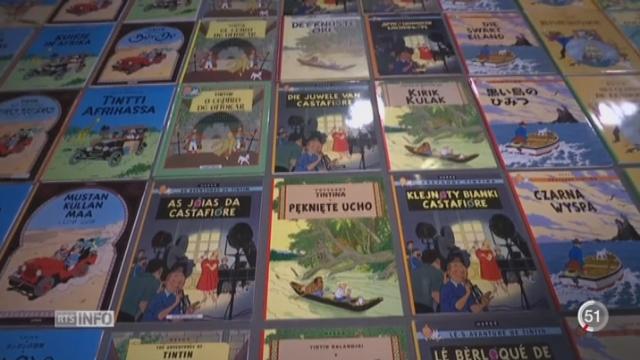 France: le Grand Palais à Paris consacre une exposition inédite au dessinateur Hergé [RTS]