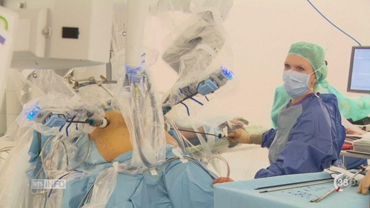 Les robots chirurgicaux n'apportent que peu de bénéfices aux patients selon une étude [RTS]