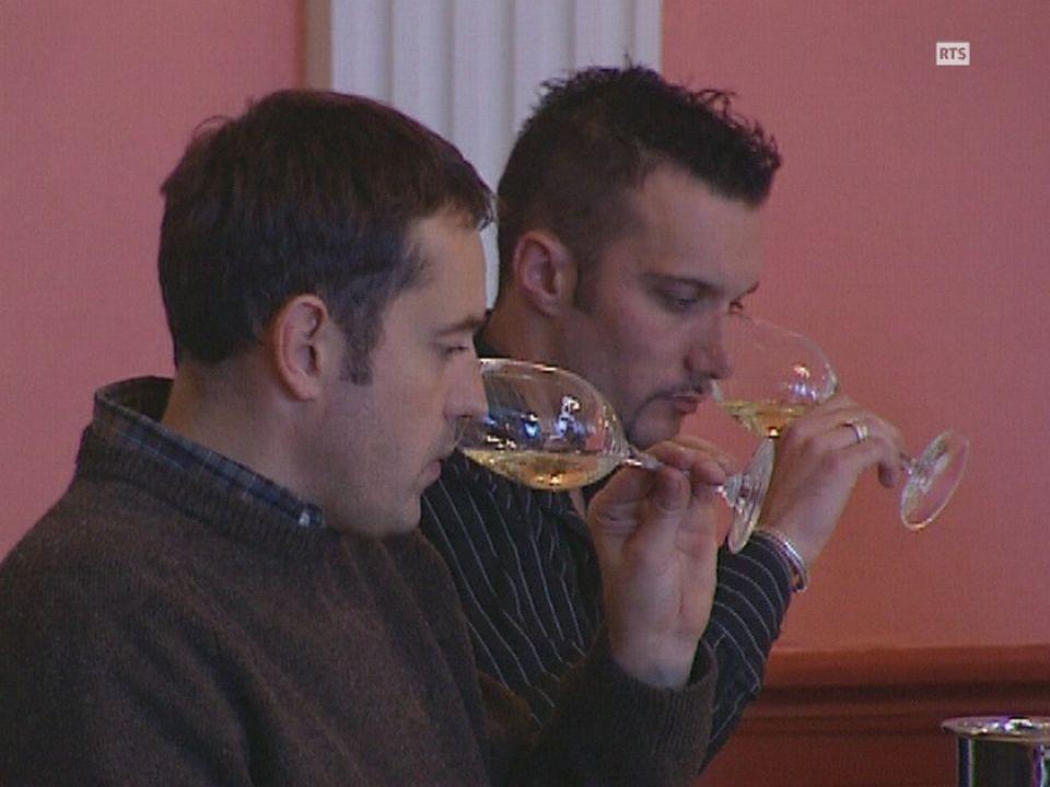 L'augmentation de la qualité du vin provoque une inflation de concours et de médailles pas toujours justifiées. [RTS]