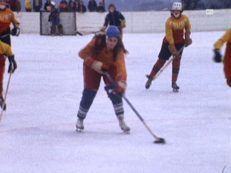 Hockey au féminin