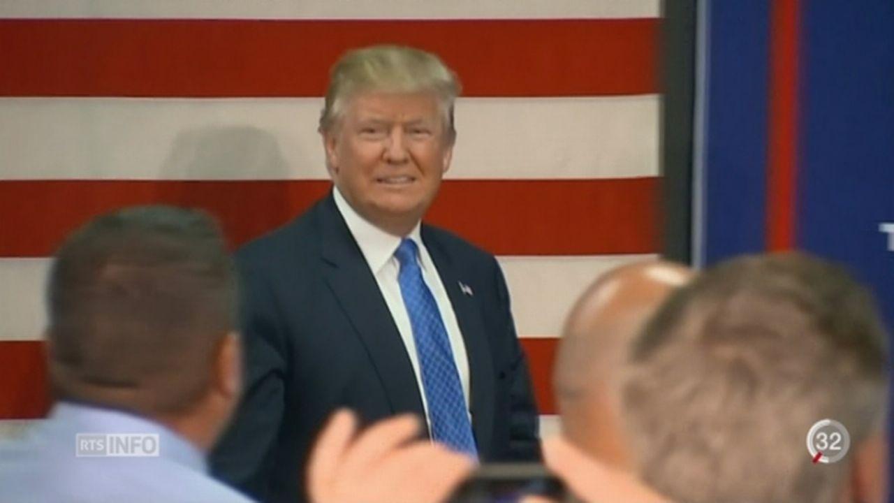 USA: Trump s'excuse pour des propos machistes [RTS]
