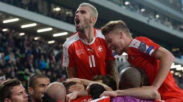 La Nati a décroché trois précieux points en Hongrie. [Tamas Kovacs - Keystone]