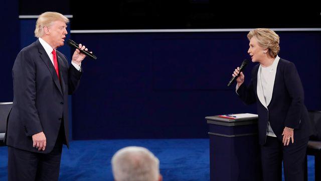 Le deuxième débat entre Hillary Clinton et Donald Trump a été des plus virulents. [Jim Young - Reuters]