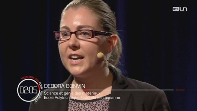 3 minutes pour la science : Debora BONVIN [RTS]