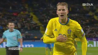 Gr. A, Suède - Bulgarie (3-0): victoire facile de la Suède [RTS]