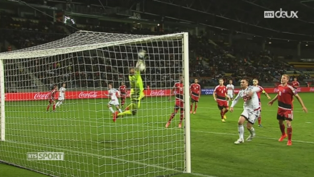 Gr. A, Bélarus - Luxembourg (1-1): véritable hold-up du Luxembourg qui égalise sur son seul tir cadré de la rencontre [RTS]