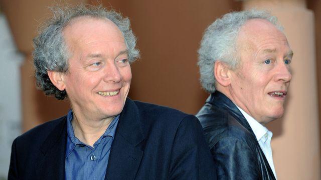 Les frères Luc et Jean-Pierre Dardenne. [Abdelhak Senna - AFP]