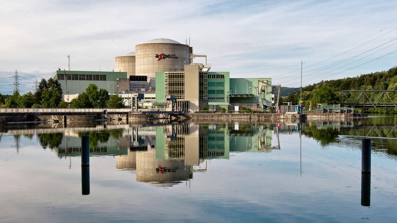 Le site de la centrale nucléaire de Beznau (AG). [Alessandro Della Bella - Keystone]
