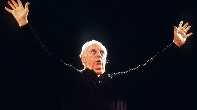 Le dramaturge italien Dario Fo. [Keystone]