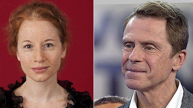 Isabelle Falconnier et Boris Vejdovsky. [salondulivre.ch/RTS]