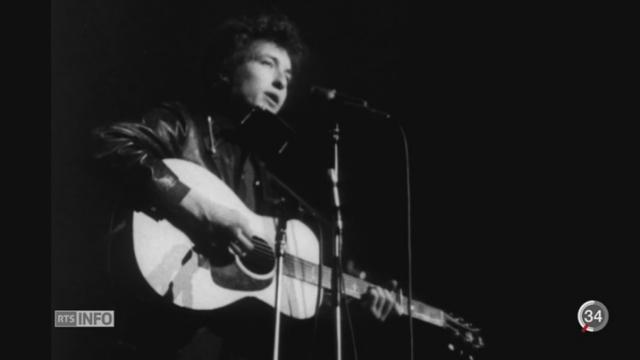 Bob Dylan - Nobel de Littérature: portrait de cet homme aux multiples facettes [RTS]