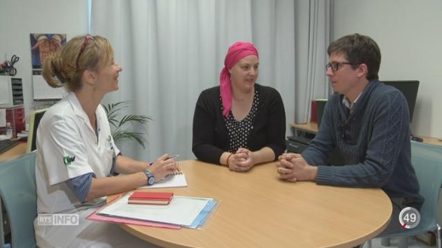 Grand format sur les couples qui traversent l'épreuve du cancer du sein [RTS]