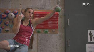 Mag: Petra Klingler est championne du monde d'escalade [RTS]