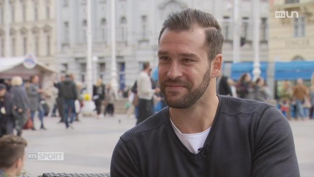 Hockey: Goran Bezina évolue dans au KHL Medvescak [RTS]