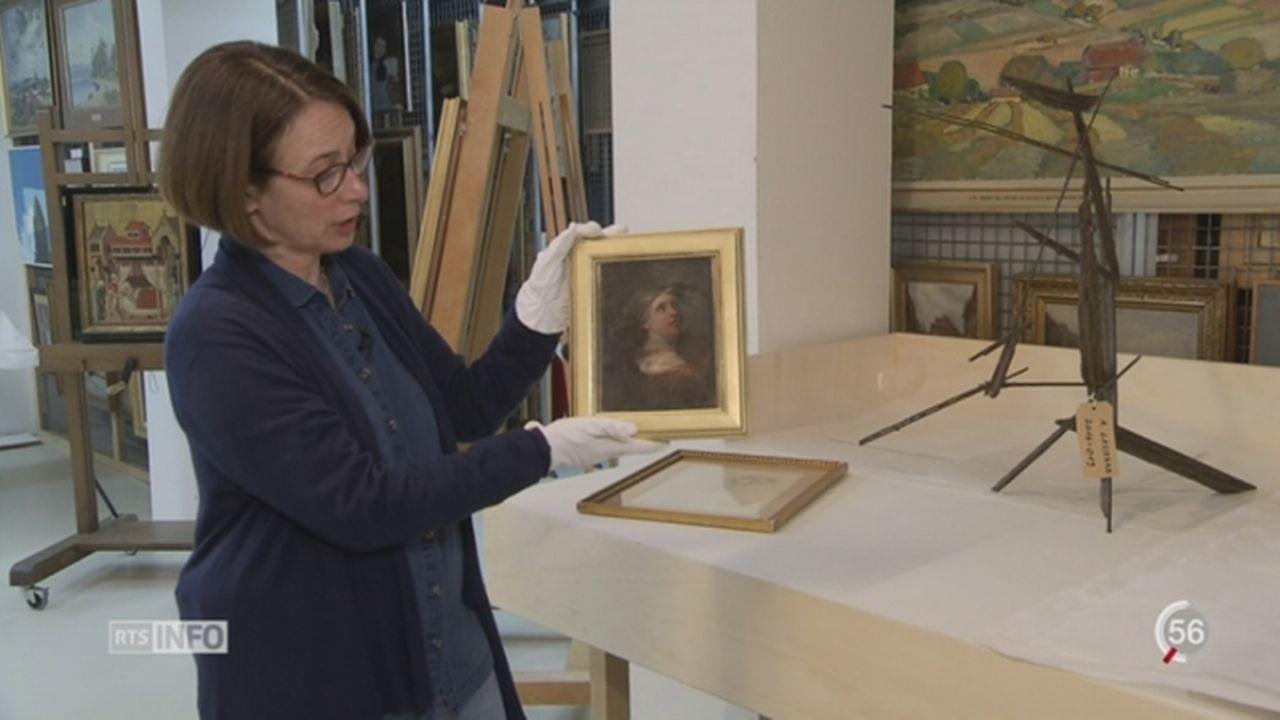 Durant la Seconde Guerre mondiale, la Suisse a acquis des œuvres d'art de manière douteuse [RTS]