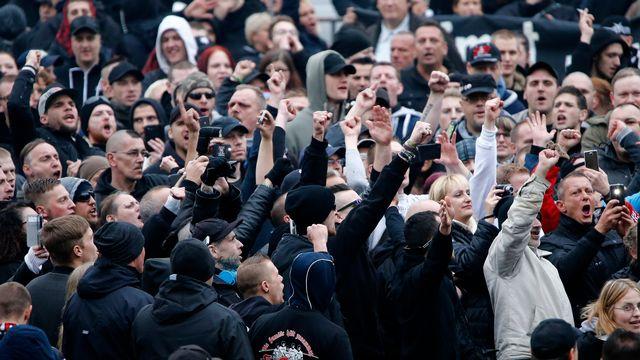 """Baptisée """"Rocktoberfest"""", la manifestation à Unterwasser s'est déroulée dans une halle de tennis. (image d'illustration) [Wolfgang Rattay  - Reuters]"""