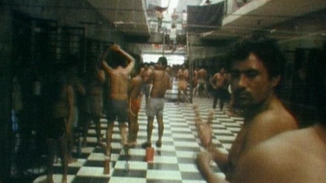 Prison au Nicaragua, 1981. [RTS]