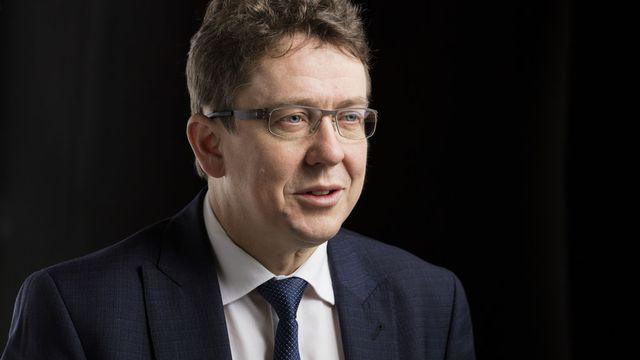 Albert Rösti, conseiller national bernois et président de l'UDC suisse. [Gaëtan Bally - Keystone]