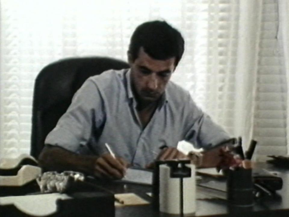 Michel Amiguet, chef de délégation du CICR au Liban, 1983-1984. [CICR]