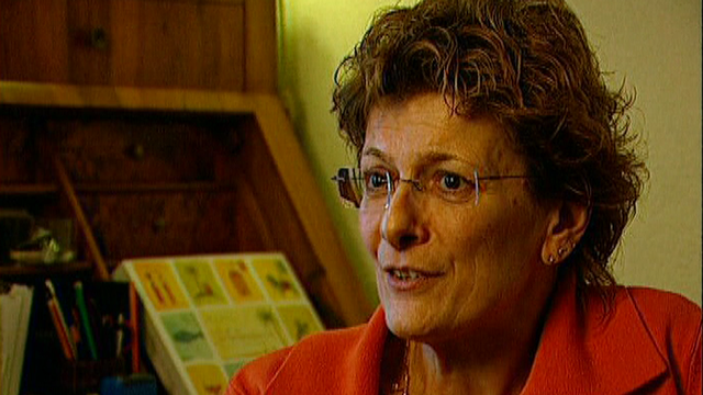 Martine Bourquin, responsable de la gestion du stress au CICR. [RTS]