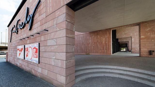 L'entrée du Musée Tinguely à Bâle. [Georgios Kefalas - Keystone]