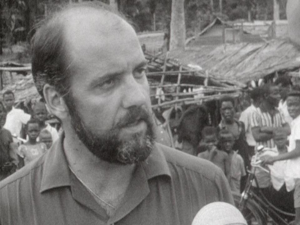 Témoignage d'un délégué du CICR sur le terrain au Biafra, 1968. [RTS]