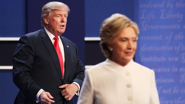 Choc après le refus de Donald Trump de promettre qu'il acceptera sa défaite. [Drew Angerer - Getty Images/AFP]