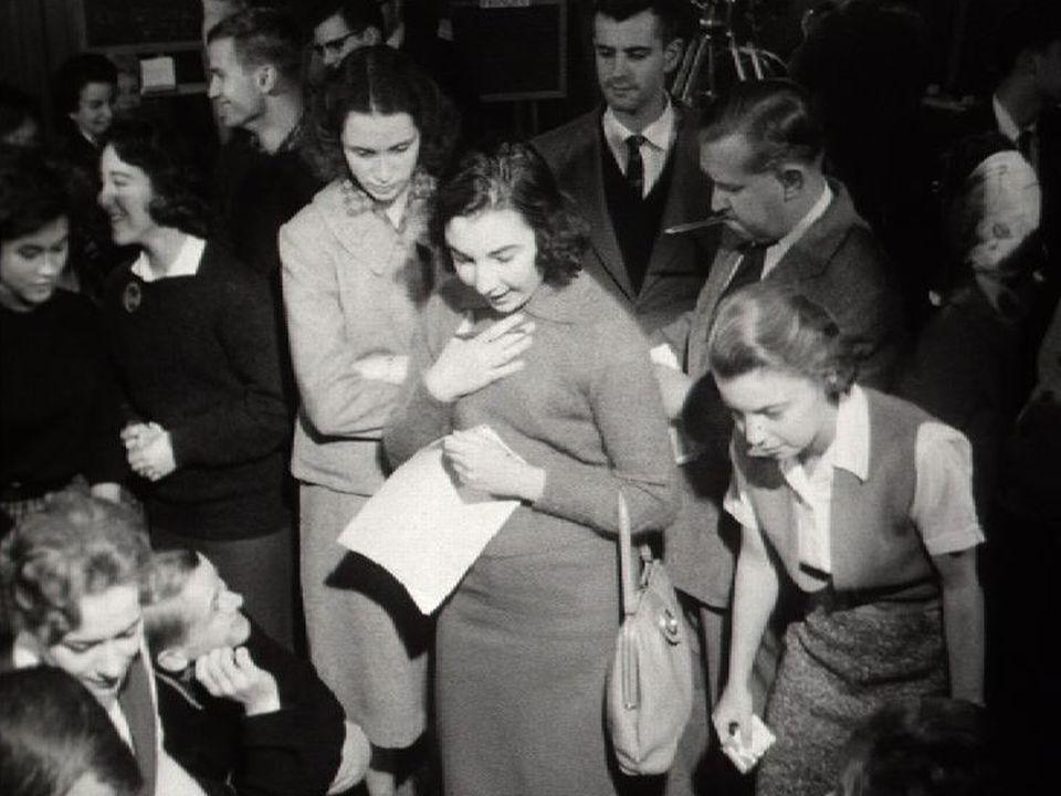 Le Cercle américain de Genève en 1960. [RTS]