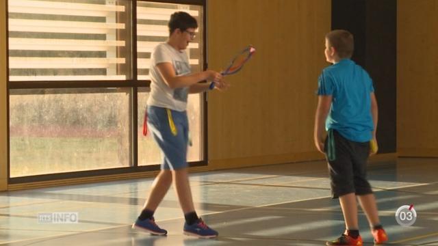 Des enfants en surpoids suivent un programme spécial pour bouger le plus possible [RTS]