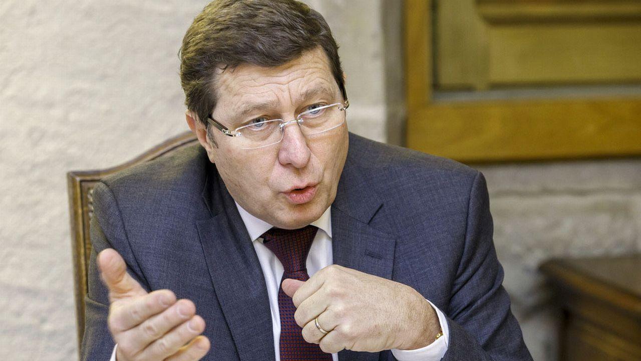 Le conseiller d'Etat genevois Mauro Poggia. [Salvatore Di Nolfi - Keystone]