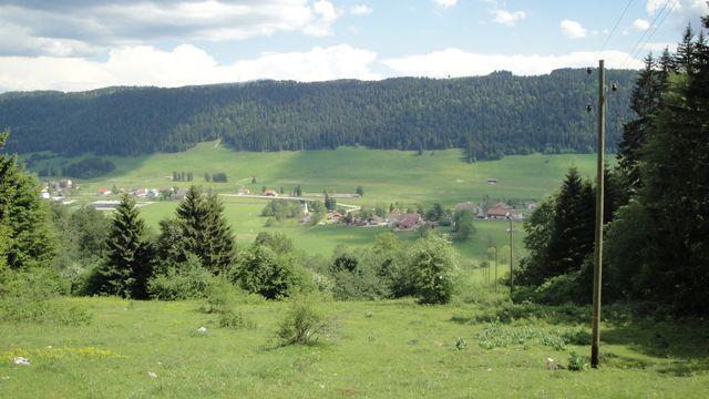 Vue sur Les Verrières (NE). [Krol:k - Wikipedia Commons]