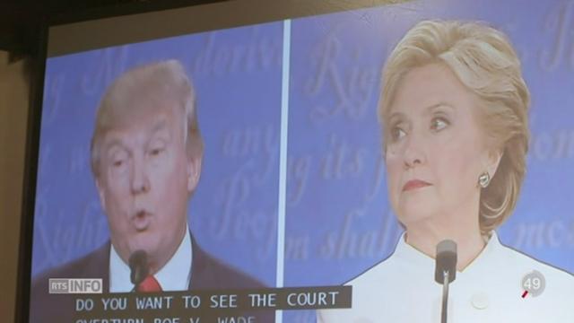 Débat Trump-Clinton: les réactions de la communauté latino-américaine [RTS]