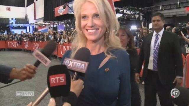 Les militants de Trump semblent sûrs de la victoire de leur candidat [RTS]