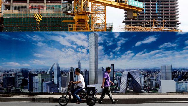 Les prix de l'immobilier ont encore pris l'ascenseur ces derniers mois en Chine. [Andy Wong - AP Photo - Keystone]