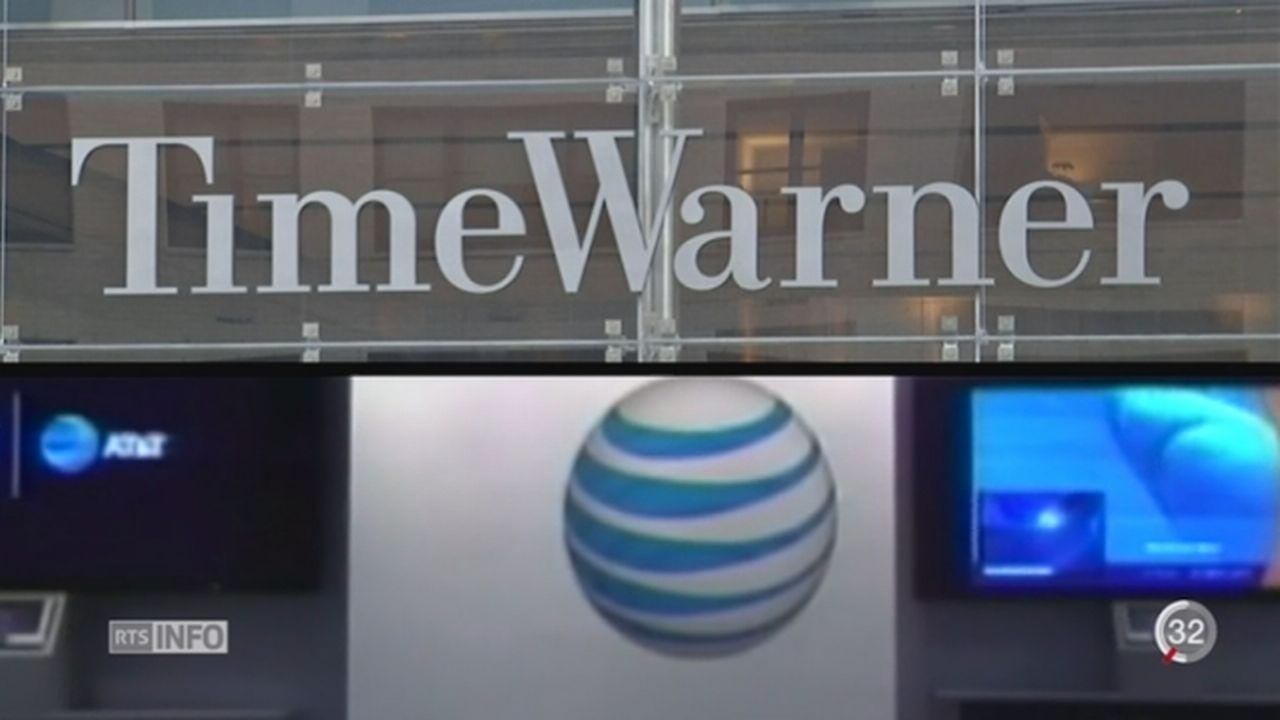 AT&T et Time Warner fusionnent pour créer un nouveau géant des médias [RTS]