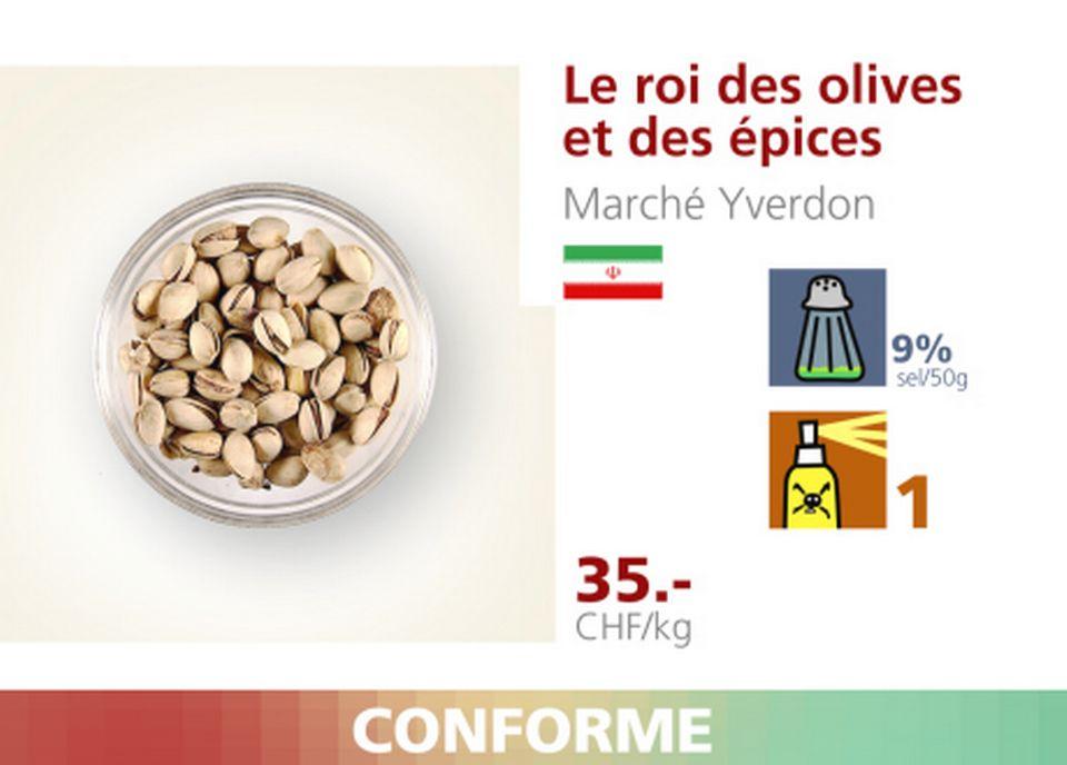 Le roi des olives et des épices. [RTS]