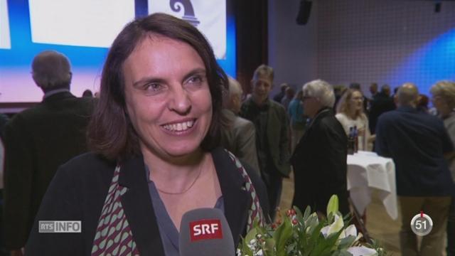 Les socialistes reprennent du terrain au niveau cantonal en Argovie et à Bâle-Ville [RTS]