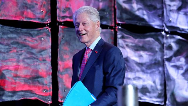 L'ancien président américain Bill Clinton. [Joe Burbank - Orlando Sentinel/AP/Keystone]