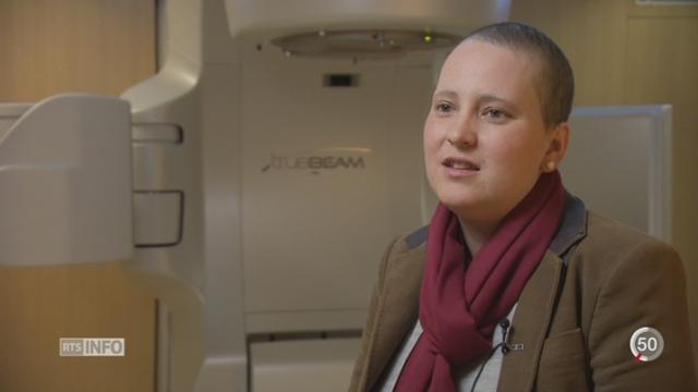 À seulement 31 ans, Élodie a dû se battre contre le cancer du sein [RTS]