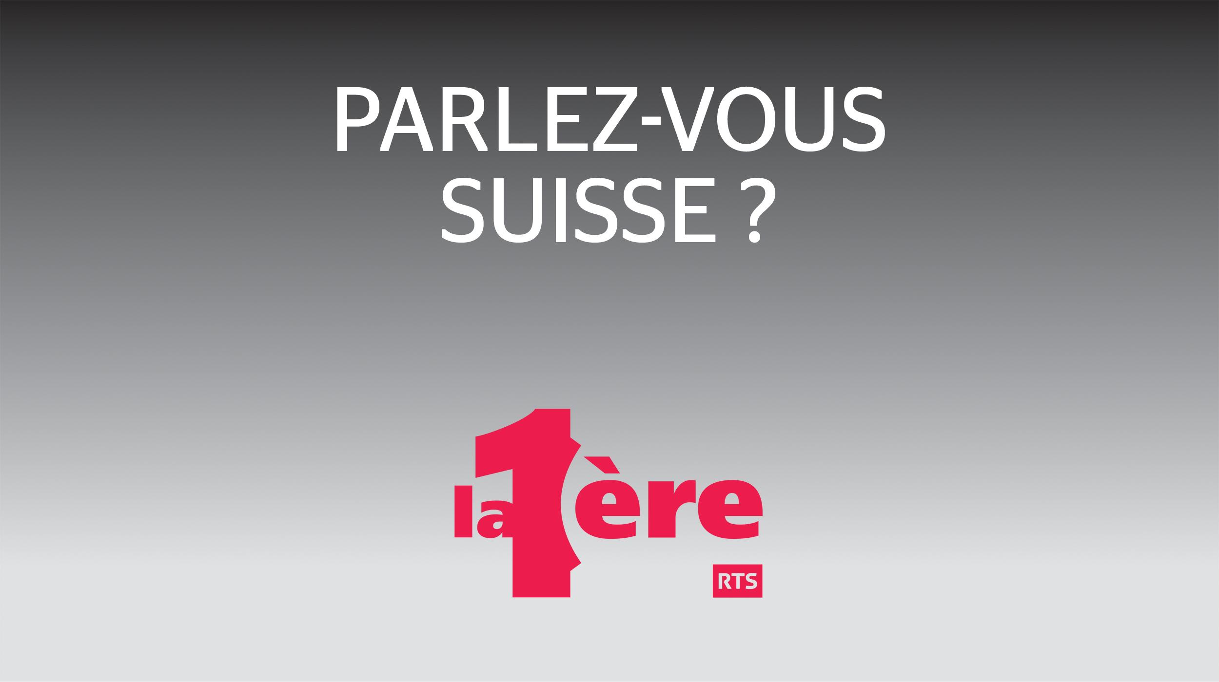 Logo Parlez-vous Suisse ? [RTS]