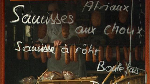Pour les Vaudois, tout est bon dans le cochon. [RTS]