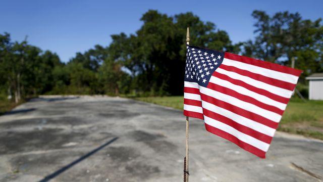 Un drapeau américain. [Jonathan Bachman - Reuters]