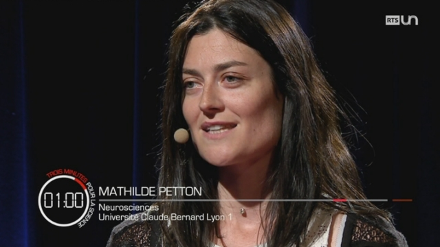 3 minutes pour la science : Mathilde PETTON