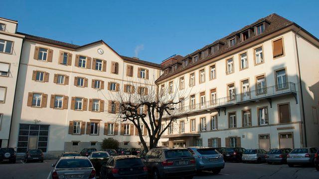 L'hôpital de la Providence à Neuchâtel. [Sandro Campardo - Keystone]