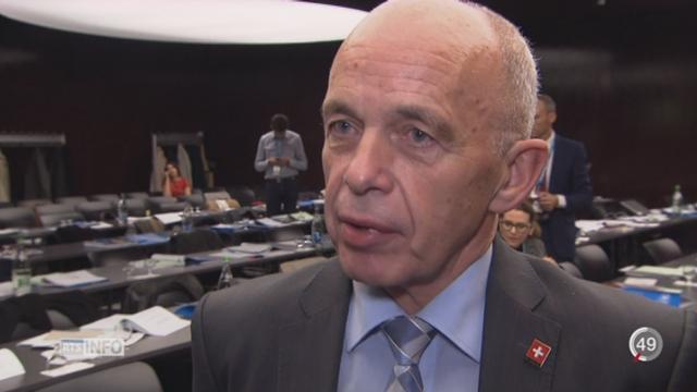 La campagne sur la réforme de la fiscalité des entreprises débute à Lausanne [RTS]