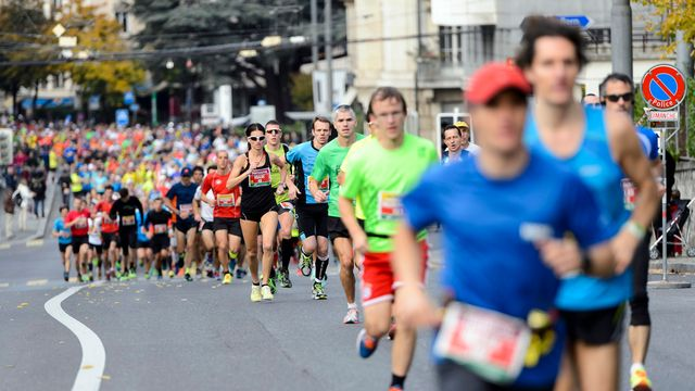Le marathon de Lausanne en 2015. [Fotolia]