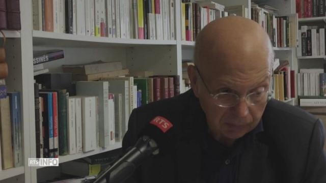 """Pour Patrick Buisson, l'initiative UDC sur les minarets est """"à l'origine du débat sur l'identité"""" de Sarkozy. [RTS]"""