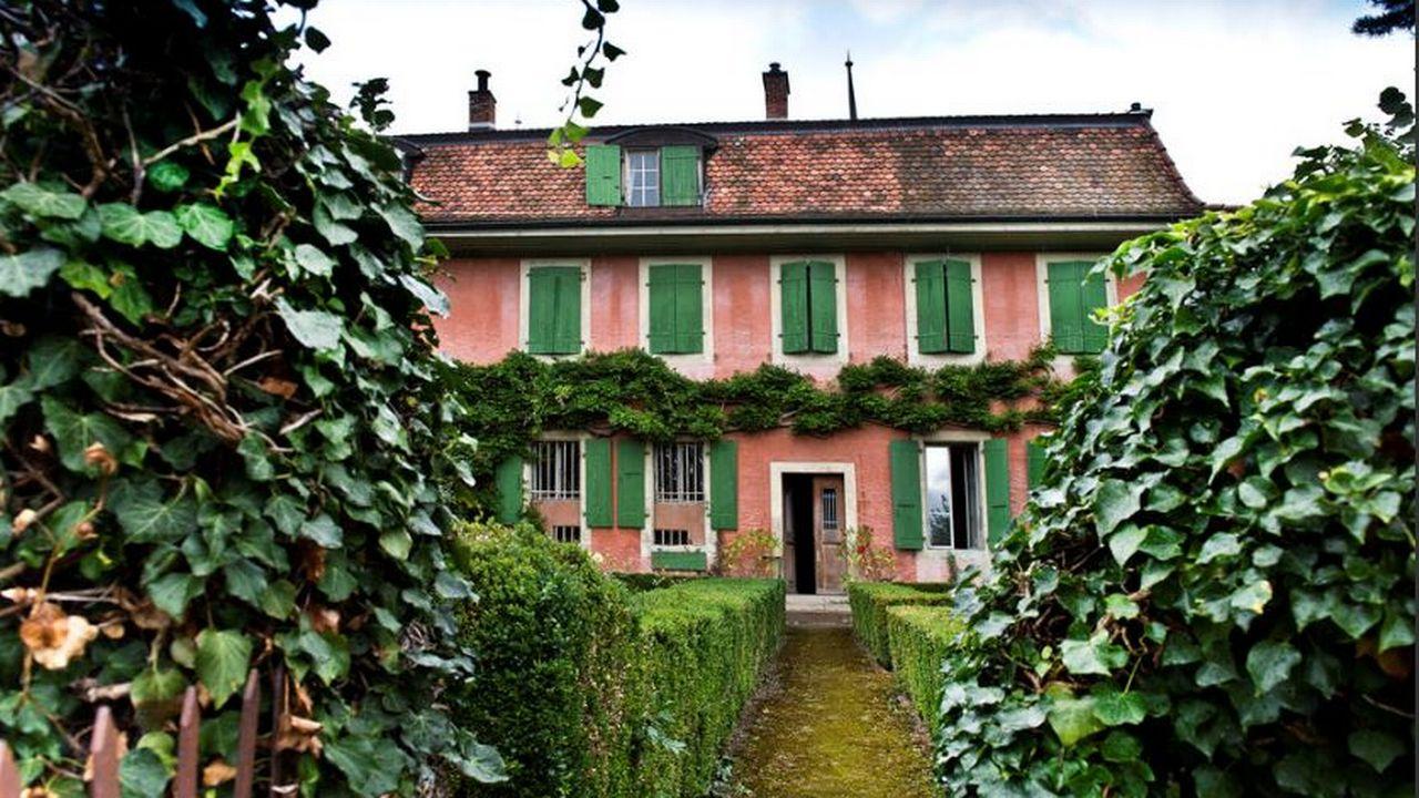 La Muette à Pully, dernière demeure de l'écrivain Charles-Ferdinand Ramuz. [Bulletin des Amis de Ramuz]